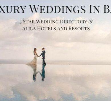 Introducing a series on luxury weddings in Bali