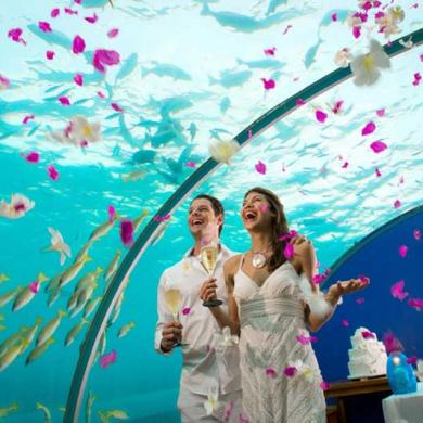 Underwater Weddings at Conrad Maldives Rangali Island