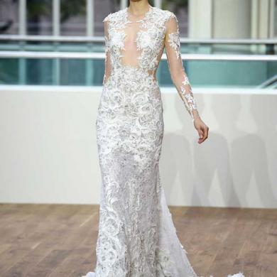 Julien Macdonald Unveils £4 Million Wedding Dress