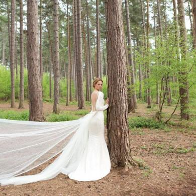 Exquisitely Sustainable Bridal Collection