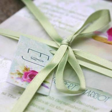 Ivy Ellen Launch Floral Wedding Stationery