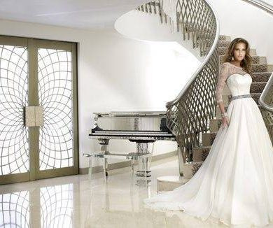 Caroline Castigliano Unveiles Her 2012 Bridal Collection