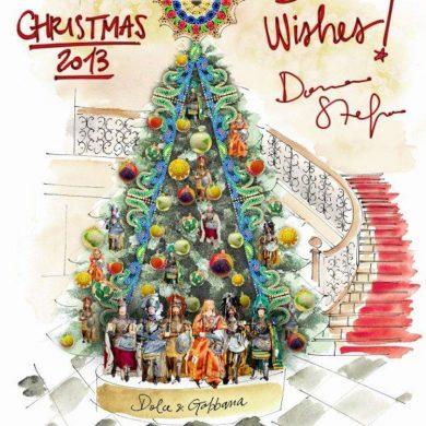 Dolce & Gabbana To Decorate Claridge's Christmas Tree