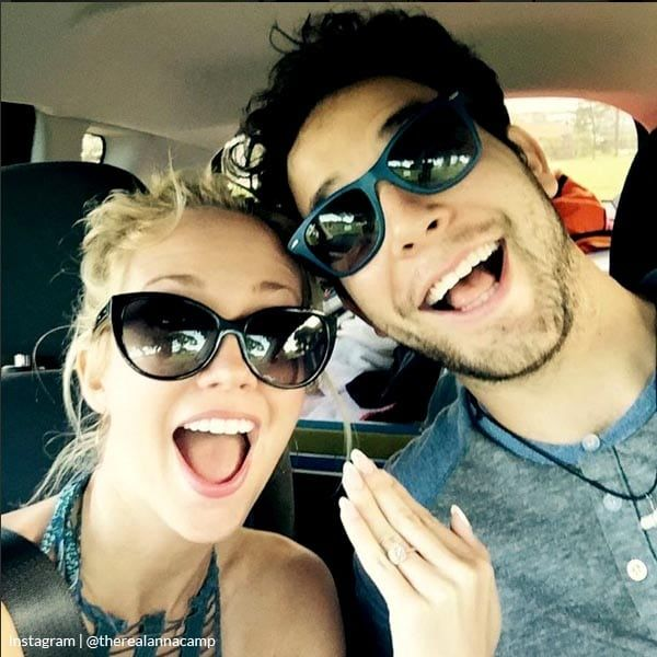 Anna and Skylar engaged! | Pitch Perfect pair share pics