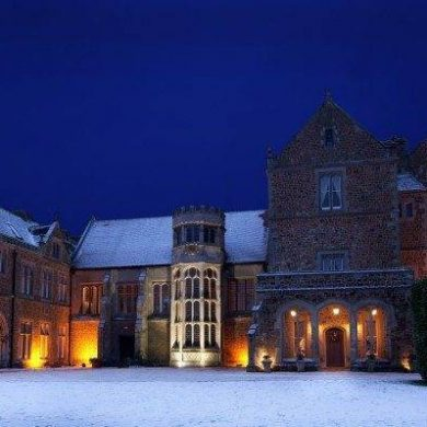 Have your winter wonderland wedding at Fawsley Hall