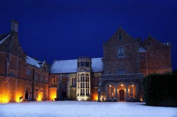 Have your winter wonderland wedding at Fawsley Hall