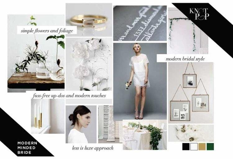 Inspiration For The Modern Minded Bride