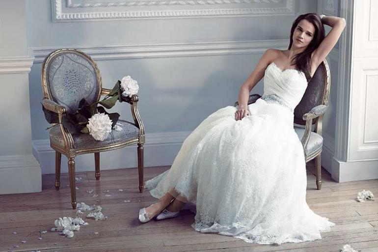 Luxury Bridal Gown Event At Caroline Castigliano