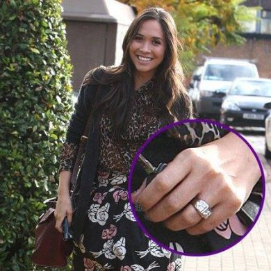 Myleene Klass's Wedding Ring
