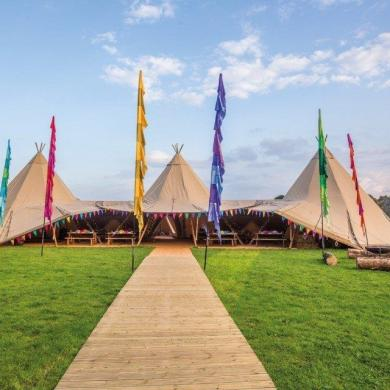 Luxurious Wedding Tipis