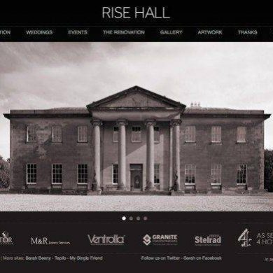 Sarah Beeny's Stunning Wedding Venue – Rise Hall