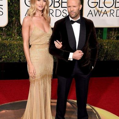 Are Rosie Huntington-Whiteley & Jason Statham engaged?