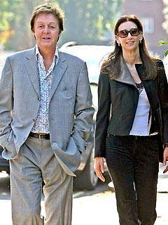 Sir Paul McCartney Announces His Engagement To Nancy Shevell