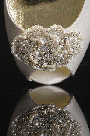 New couture wedding shoes by Freya Rose