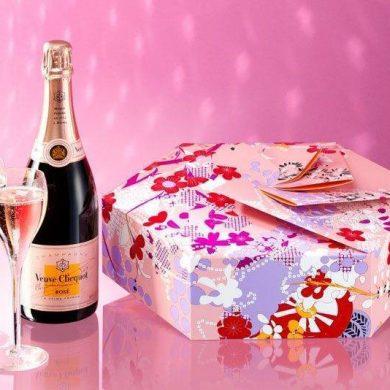 Veuve Clicquot Celebrates Love Introducing The Shakkei Rosé Collection