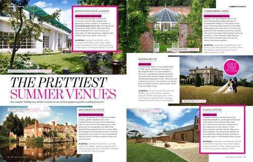5 Star Weddings Feature In Perfect Wedding Magazine