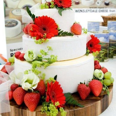 Cheese Wedding Cakes Are The Latest Trend For Weddings