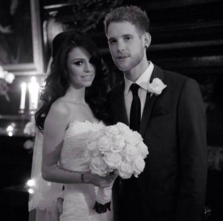 Cher Lloyd Reveals Secret Wedding Ceremony