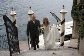 Real Wedding: Luxury Villa Above Lake Como