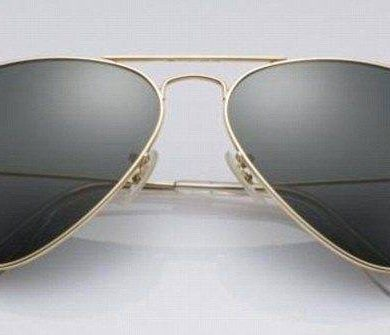 Ray-Ban Launches Solid 18K Gold Aviator Sunglasses