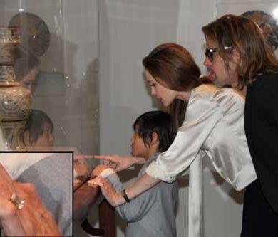 Angelina Jolie and Brad Pitt Finally Get Engaged