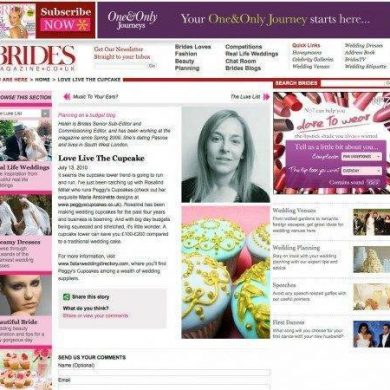 5 Star Wedding Directory Featured in Brides Magazine