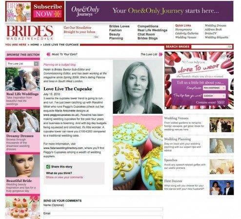 5 Star Wedding Directory Featured in Brides Magazine