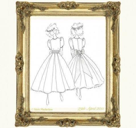 Nicki Macfarlane The Royal Bridesmaids' Dresses Designer