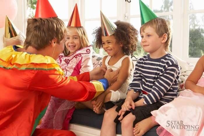 Children's Entertainment for the Wedding