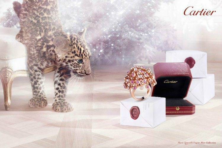 Cartier Winter Tale Campaign 2013