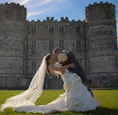 Be A Princess On Your Wedding Day At Lulworth Castle