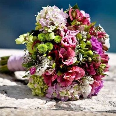 Bridal Bouquets for Summer Weddings