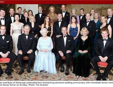 Congratulations to Queen Elizabeth II and Prince Philip