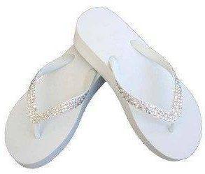 Swarovski Crystal Bridal Flip Flops