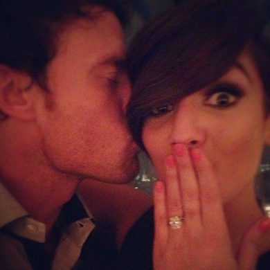 Frankie Sandford's Engagment Ring