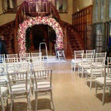 Hugh Hefner Marries At His Play Boy Mansion