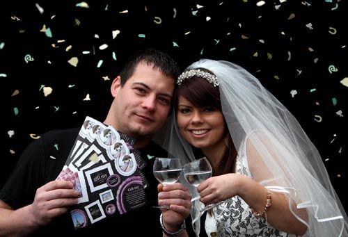 Wedding Guests Contribute Towards Couple's Honeymoon