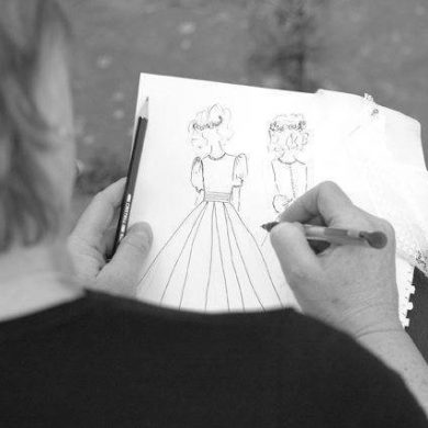 Interview With The Designer Of The Royal Bridesmaids Dresses