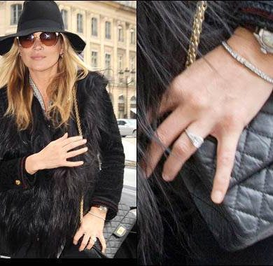 Steal Her Style: Kate Moss' Engagement Ring