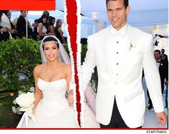 Kim Kardashian Announces Divorce