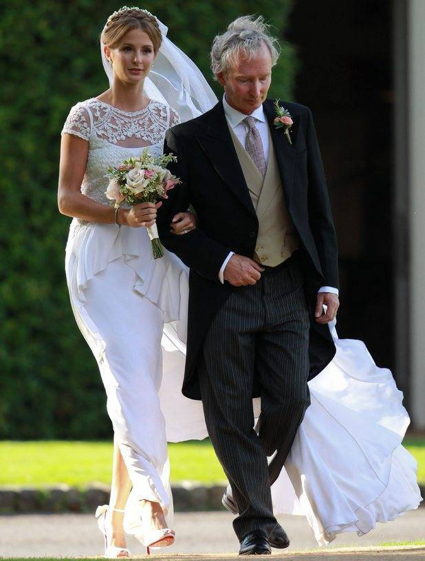 Millie Mackintosh Marries In Vintage Alice Temperley Gown