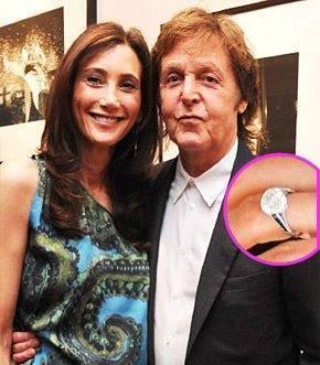 Nancy Shevell's Engagement Ring
