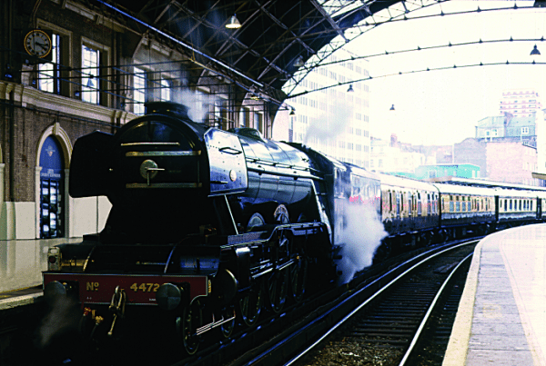Journey Aboard A Vintage Train This Valentine's Day