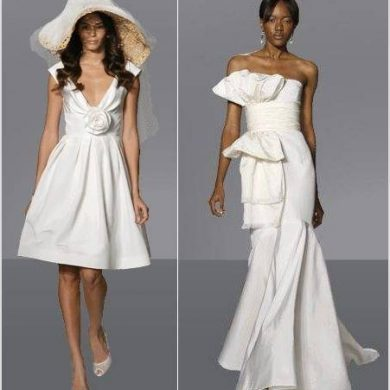 Wedding Dresses by Top Designers – Part 1