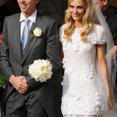 Poppy Delevingne Weds James Cook In Chanel Bridal Gown