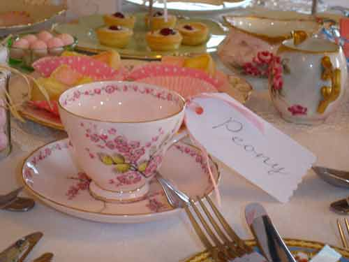 Serve Delicious Cake On Beautiful Vintage China