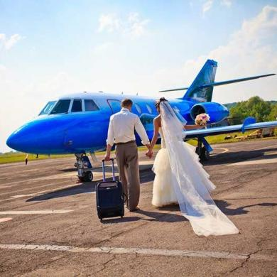 How To Put The Wow Into Weddings By Private Jet