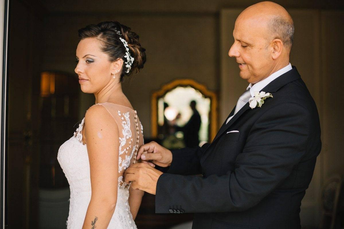wedding getting ready bride father - Spotlight on: Rocco Daniele Photography