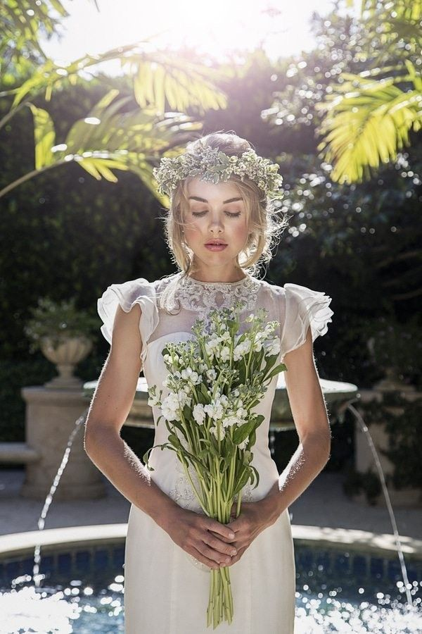 A Secret Garden And Beach Dream Wedding Inspiration