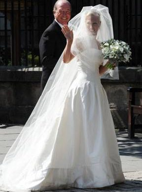 Zara Phillips Wedding Gown By Stewart Parvin